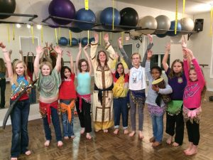 2016 Feb 3 GS Troop 13089 Egyptian BD History and Demo